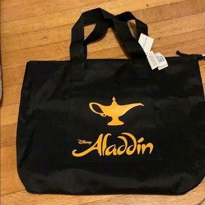Brand new with tags Broadway musical Aladdin tote